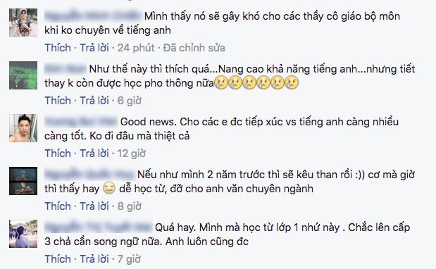 Thực hư chuyện sẽ có sách giáo khoa song ngữ Việt - Anh ảnh 6