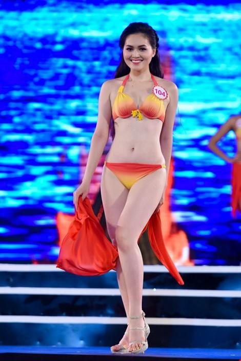 Mãn nhãn màn trình diễn bikini của 18 nhan sắc phía Bắc vào CK HHVN 2016 ảnh 4