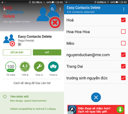 Mẹo xóa nhiều số liên lạc cùng lúc trên Android và iOS ảnh 2
