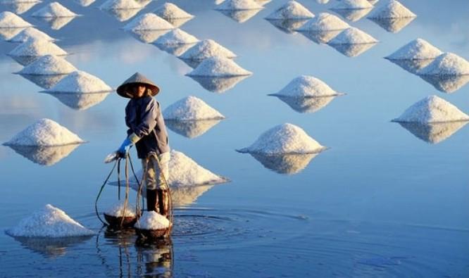 Cánh đồng muối Việt: Nơi ngắm hoàng hôn đẹp nhất thế giới ảnh 4