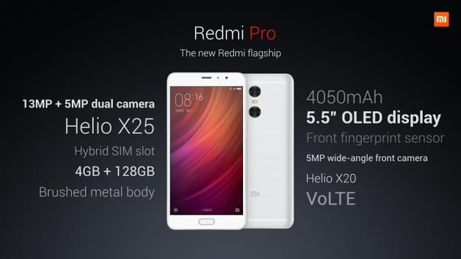 """Xiaomi Redmi Pro: Smartphone Redmi """"khủng"""" nhất từ trước tới nay ảnh 2"""