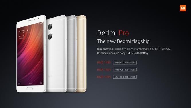 """Xiaomi Redmi Pro: Smartphone Redmi """"khủng"""" nhất từ trước tới nay ảnh 4"""