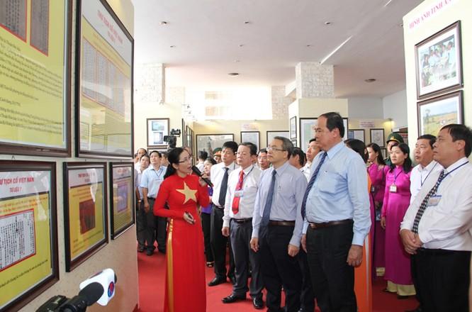 Khai mạc Triển lãm chủ quyền Hoàng Sa, Trường Sa của Việt Nam tại An Giang ảnh 1