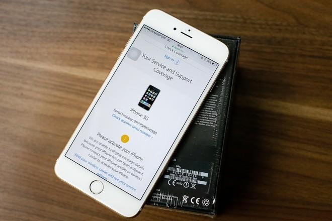 Cận cảnh iPhone 3G hàng hiếm giá 50 triệu đồng ở Việt Nam ảnh 1