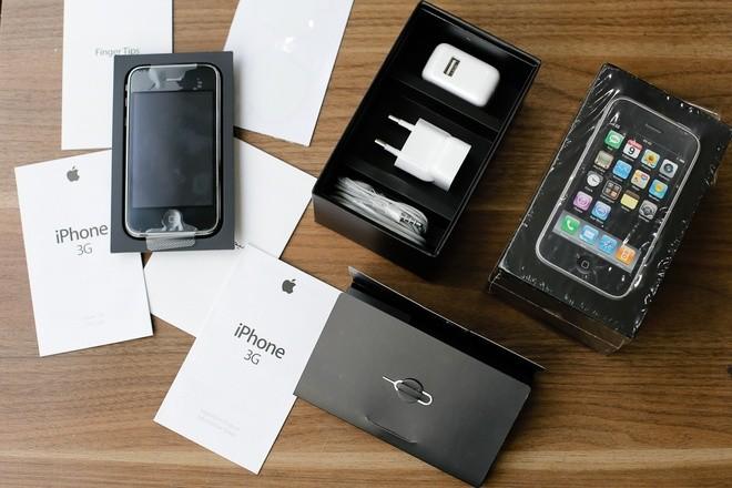 Cận cảnh iPhone 3G hàng hiếm giá 50 triệu đồng ở Việt Nam ảnh 4