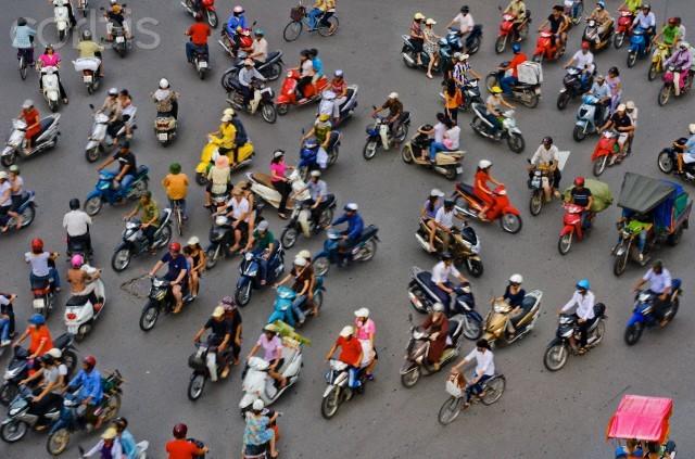 """Báo Mỹ: Ô tô tự lái """"thất thủ"""" trước giao thông Việt Nam ảnh 3"""