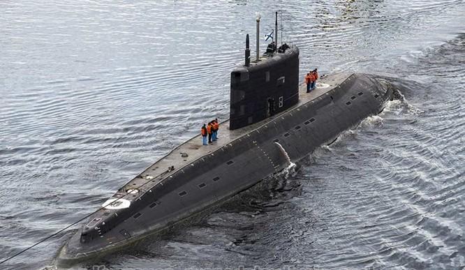 Cuối năm 2016: Nga sẽ bàn giao tàu ngầm Bà Rịa - Vũng Tàu cho Việt Nam ảnh 1