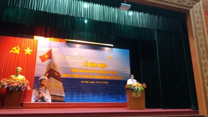 Thêm bằng chứng Hoàng Sa, Trường Sa là lãnh thổ thiêng liêng của Việt Nam ảnh 1