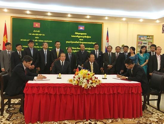 Kiến nghị Campuchia hỗ trợ cấp phép, ưu đãi thuế cho Viettel, VNPT, FPT ảnh 1