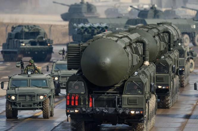 Hệ thống tên lửa đạn đạo liên lục địa Topl-M- một trong những hệ thống tên lửa hiện đại nhất của Nga.