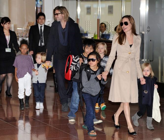 Trước khi gặp Pitt, Jolie đã kết hôn hai lần. Vào thời điểmbắt đầu cuộc tình lãng mạn của họ thì Pitt là người có vợ - kết hôn với ngôi sao Jennifer Aniston của loạt phim