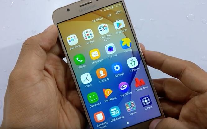 Video: Galaxy J7 Prime vẫn mượt sau màn dìm nước ảnh 8