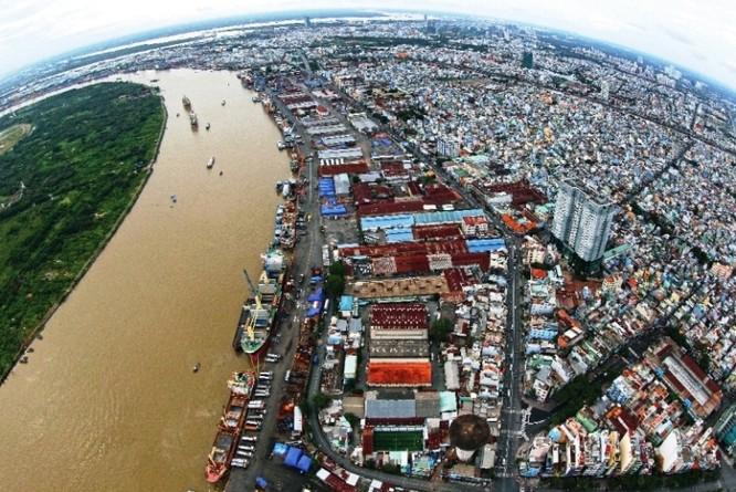 Quận 4 - Cảng Sài Gòn.