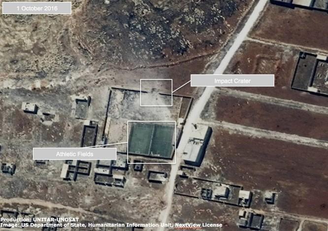 Chiến sự Syria: Tử địa Aleppo tan hoang nhìn từ vệ tinh ảnh 2