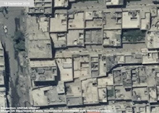 Chiến sự Syria: Tử địa Aleppo tan hoang nhìn từ vệ tinh ảnh 8