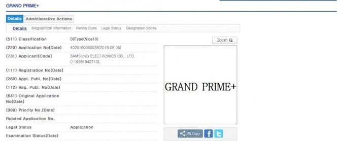 Galaxy Grand Prime+: Smartphone giá rẻ lộ diện ảnh 1