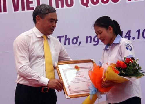 Phát động cuộc thi Viết thư quốc tế UPU lần thứ 46 ảnh 1