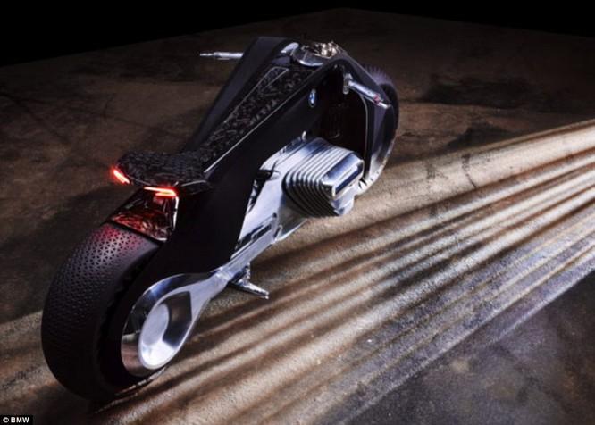 BMW ra mắt xe máy tự cân bằng siêu hiện đại ảnh 4