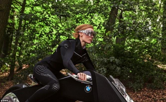 BMW ra mắt xe máy tự cân bằng siêu hiện đại ảnh 5