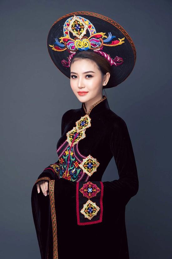Video: Ngắm nhan sắc hotgirl Việt vừa đăng quang Nữ hoàng sắc đẹp toàn cầu 2016 ảnh 3
