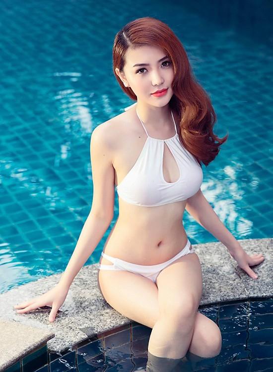Video: Ngắm nhan sắc hotgirl Việt vừa đăng quang Nữ hoàng sắc đẹp toàn cầu 2016 ảnh 7