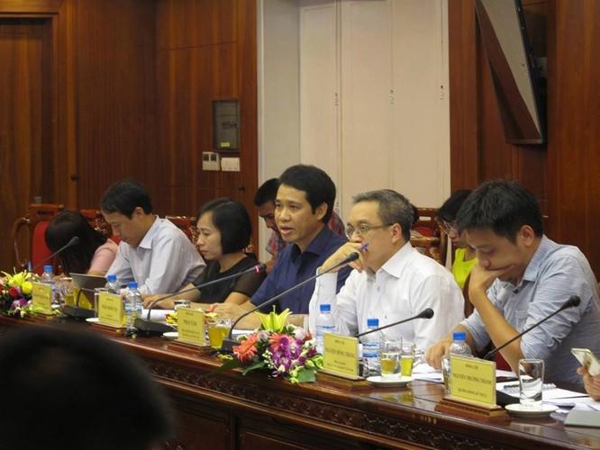 Buổi làm việc của Ban công tác thúc đẩy phát triển IPv6 quốc gia với Tập đoàn Viettel ngày 26/10 do Thứ trưởng Phan Tâm, Trưởng Ban công tác chủ trì (Ảnh: Đỗ Vân)