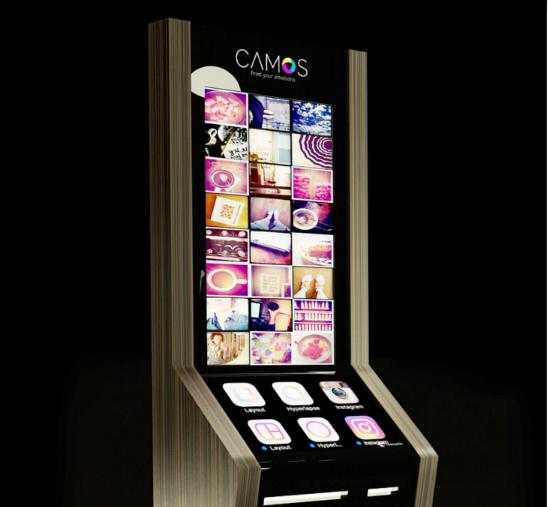 Ra mắt máy Camos in ảnh tự động lấy ngay ảnh 1