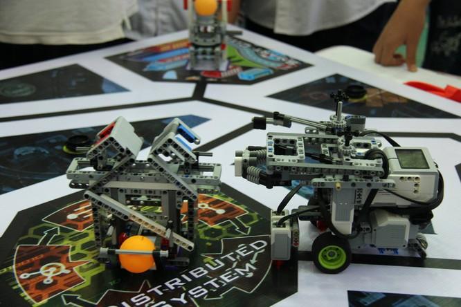 """65 đội """"kỹ sư robot"""" nhí giành vé dự thi quốc tế tại Malaysia ảnh 8"""