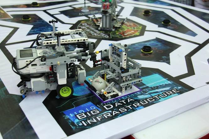 """65 đội """"kỹ sư robot"""" nhí giành vé dự thi quốc tế tại Malaysia ảnh 9"""