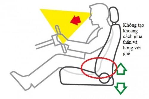 Tư thế ngồi thế nào cho đúng với tài xế mới? ảnh 1