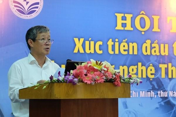 Thứ trưởng Nguyễn Thành Hưng phát biểu tại Hội thảo - Ảnh: Hải Đăng