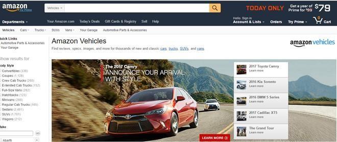 Amazon sẽ bán ô tô qua internet với giá chỉ bằng 70% giá thị trường ảnh 1