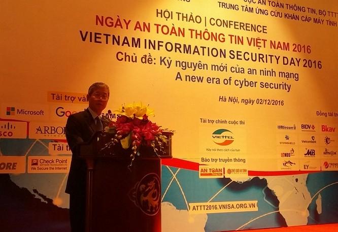 Chỉ số an toàn thông tin của Việt Nam đã vượt ngưỡng trung bình ảnh 1