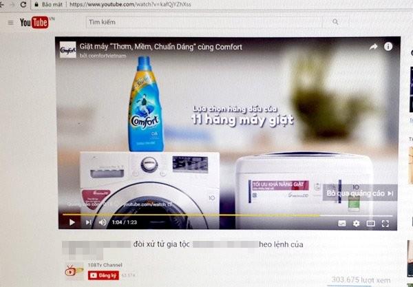 Nhiều sai phạm trong quảng cáo của YouTube tại Việt Nam ảnh 1