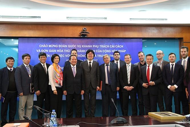 Việt Nam và Pháp sẽ tăng cường hợp tác xây dựng chính phủ điện tử ảnh 2