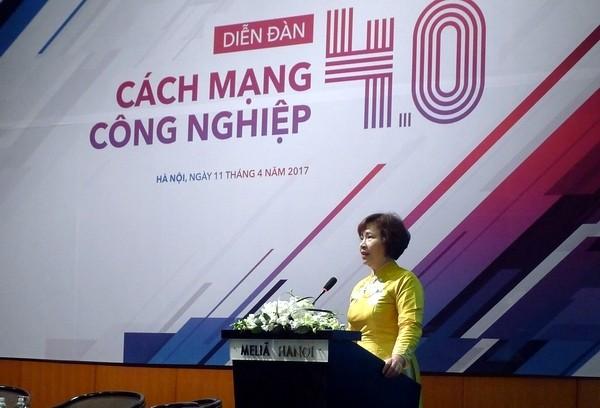 Thứ trưởng Bộ Công Thương Hồ Thị Kim Thoa: