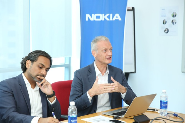 Đại diện Nokia chia sẻ về kinh nghiệm triển khai thành phố thông minh.
