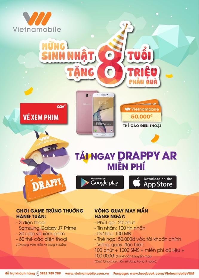 Vietnamobile chính thức ra mắt ứng dụng Drappy AR ảnh 1