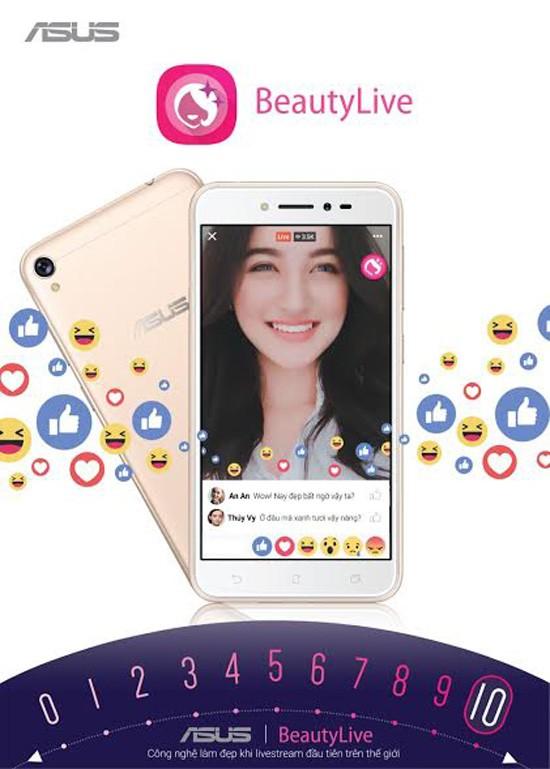 ZenFone Live – smartphone chuyên livestream, giá 3,69 triệu đồng ảnh 1