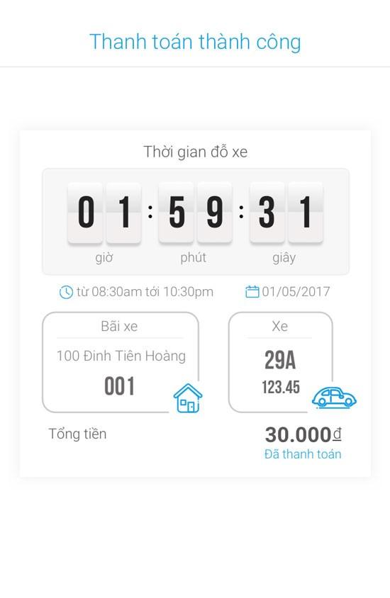 Mách bạn cách dùng ứng dụng iParking tìm kiếm điểm đỗ ô tô qua smartphone ảnh 5