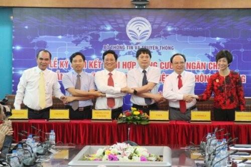 5 nhà mạng Viettel, Vinaphone, MobiFone, Vietnamobile và GTel cam kết với Bộ Thông tin và Truyền thông (Bộ TT&TT) chiều 11/5 tại Hà Nội về việc phối hợp tăng cường ngăn chặn tin nhắn rác sẽ áp dụng từ ngày 01/07/2017.