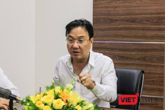Nhà báo Hồng Thanh Quang -- Tổng biên tập báo Đại Đoàn Kết