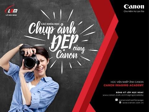 Canon ra mắt chương trình học viện nhiếp ảnh Imaging Academy ảnh 1