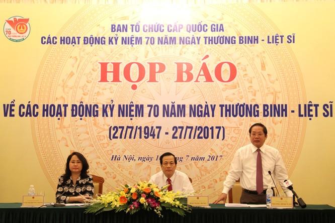 Bộ trưởng Trương Minh Tuấn phát biểu tại buổi họp báo