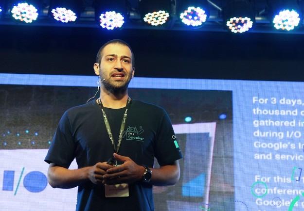 Sami Kizilbash, một trong những vị khách mời đặc biệt trong sự kiện Google I/O Extended 2017..