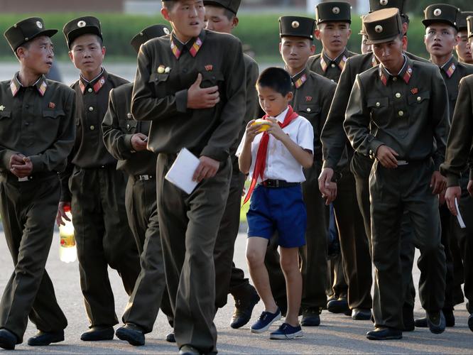 """""""Vén màn"""" cuộc sống đời thường ở Triều Tiên ảnh 2"""