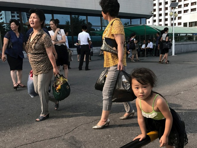 """""""Vén màn"""" cuộc sống đời thường ở Triều Tiên ảnh 9"""