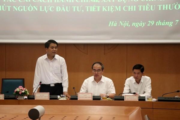 Hà Nội: Sẽ lắp thiết bị đầu cuối đến tận nhà dân để triển khai thủ tục hành chính ảnh 1