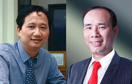 Cặp đôi Trịnh Xuân Thanh - Vũ Đức Thuận tại PVC.