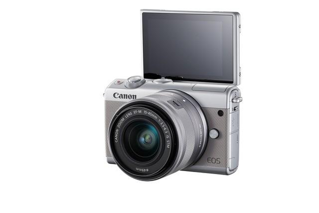 Máy ảnh không gương lật Canon EOS M100 giá 13 triệu đồng, lên kệ đầu tháng 10 tới ảnh 1
